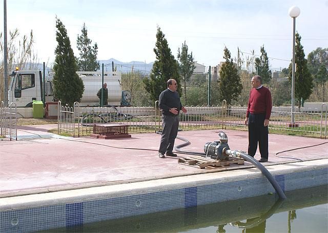 Puerto Lumbreras reutiliza más de 250.000 litros de agua para regadío y limpieza urbana - 2, Foto 2