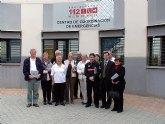 La asociaci�n PALS visita el centro de emergencias 112 de la regi�n