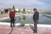 Puerto Lumbreras reutiliza más de 250.000 litros de agua para regadío y limpieza urbana