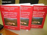 """Presentado el cuadernillo """"La ermita-santuario de Santa Eulalia de Mérida de Totana"""", elaborado por Juan Cánovas Mulero y Pedro Martínez Cavero"""