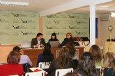 Más de una veintena de mujeres empresarias asisten a la presentación del programa Coaching Tecnológico en Puerto Lumbreras