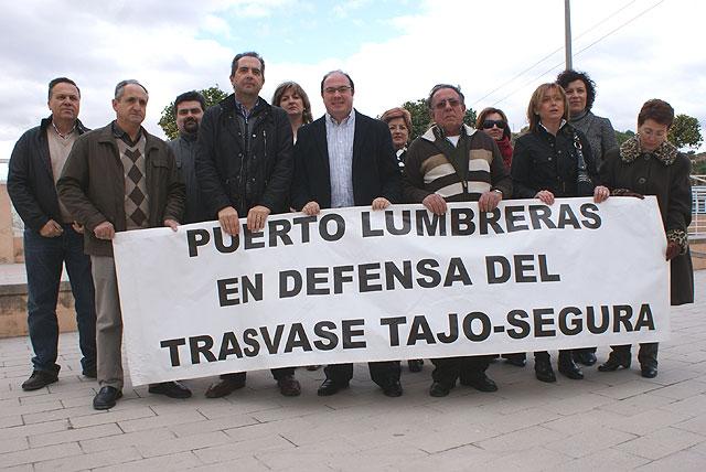 Ayuntamiento, Empresarios y Comunidad de Regantes se unen en defensa del Trasvase Tajo-Segura - 1, Foto 1