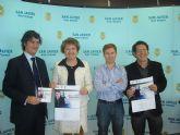El ayuntamiento firma un convenio con la Asociación de Jóvenes Empresarios de la Región de Murcia para apoyar con nuevas iniciativas a este sector en el municipio