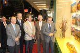 Cerdá inaugura la exposición 'Primavera: Floración en Cieza'