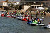 La costa de Mazarr�n, escenario del Campeonato Regional de motos de agua