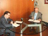 El rector de la Universidad Politécnica de Cartagena y el alcalde de Cieza firman un convenio de colaboración
