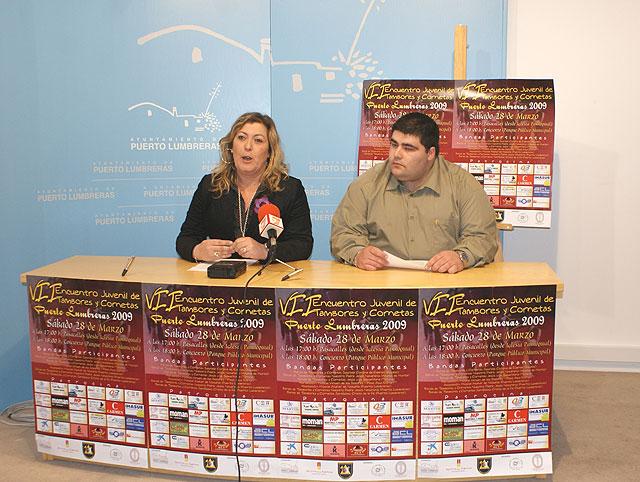 Puerto Lumbreras presenta el VII Encuentro Juvenil de Tambores y Cornetas 2009 que congregará a más de 300 participantes - 2, Foto 2