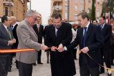 El director general de Comercio y Artesanía de la Región de Murcia y el alcalde de Alcantarilla inauguran la primera Gran Feria Outlet