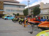 Los voluntarios de Protección Civil celebran este fin de semana su XV aniversario con actividades, puertas abiertas, y dos espectaculares simulacros en Santiago de la Ribera