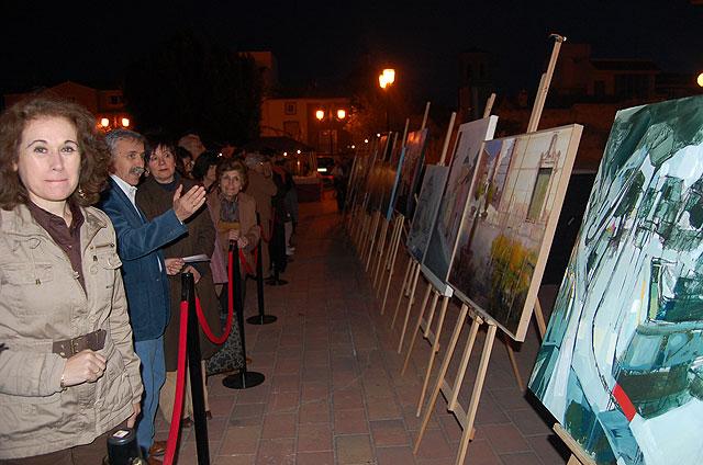 Dieciocho pintores consolidan el II Concurso de pintura al aire libre de Alguazas - 1, Foto 1