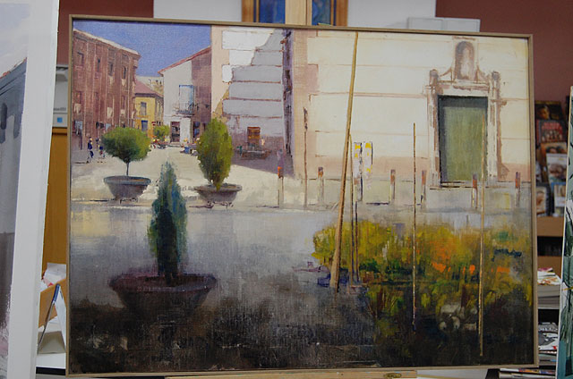Dieciocho pintores consolidan el II Concurso de pintura al aire libre de Alguazas - 3, Foto 3