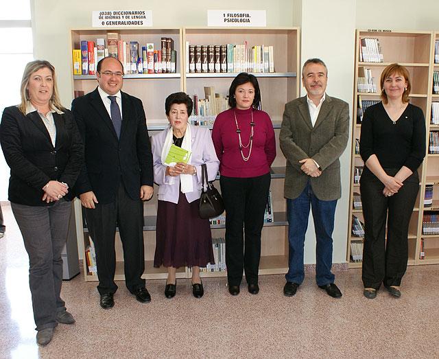 Puerto Lumbreras inaugura  la ampliación de la biblioteca municipal - 1, Foto 1