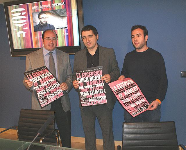 El Alcalde de Puerto Lumbreras y el Consejero de Cultura y Turismo presentan Explum 2009 - 1, Foto 1