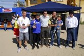 La playa Bah�a de Mazarr�n fue el escenario de la segunda prueba del Campeonato Regional Murciano de Motos de Agua 2009