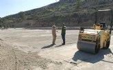 Puerto Lumbreras construye un Campo de Fútbol 7 en la pista deportiva Peñas Blancas