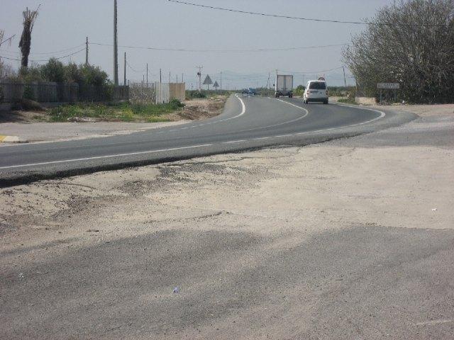 Circular por la F-14 entre Torre-Pacheco y El Jimenado será más seguro - 1, Foto 1