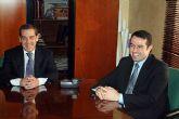 El director general de Formación Profesional y Educación de Personas Adultas, Joaquín Buendía, visitó Alcantarilla