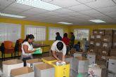 Los voluntarios ambientales recogieron m�s de 2 toneladas de libros y material escolar durante la segunda campaña del Proyecto Libro