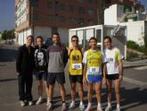 "Atletas del Club Atletismo Totana participaron en la carrera popular ""Fiestas de San José"""
