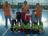 Organizan una Jornada de Minifútbol Sala Prebenjamín