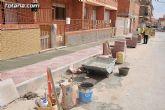 Las obras en las calles San Francisco y El Salvador finalizarán esta semana