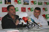 "IU: ""La Sociedad Municipal PROINVITOSA, que gestiona el Polígono Industrial de Totana, arroja casi 100.000 euros de pérdidas en 2008, tras 10 años obteniendo beneficios"""