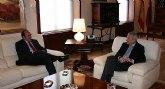El Alcalde presenta al Presidente Valcárcel el proyecto de Puerto Lumbreras Municipio Escuela en Hostelería