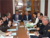 El delegado del Gobierno copreside la Junta Local de Seguridad de Molina de Segura