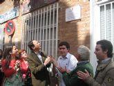 El Alcalde inaugura en Aljucer el nuevo local que el Ayuntamiento pone al servicio de los jóvenes de la pedanía