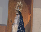El Vicario General de la Diócesis presidió ayer la apertura del 50 Aniversario de la Coronación de la Patrona de La Algaida