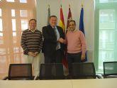 Visita institucional de la dirección de Gas Natural Murcia