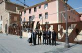 Valcárcel inaugura la nueva sede de la Biblioteca Municipal de Cieza en el remodelado Convento de San Joaquín y San Pascual