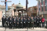 Autoridades municipales presiden los actos organizados con motivo de la celebración de San Patricio, el patrón de la Policía Local