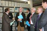 El presidente Valcárcel conoció el Proyecto Reciclática de la Universidad de Murcia