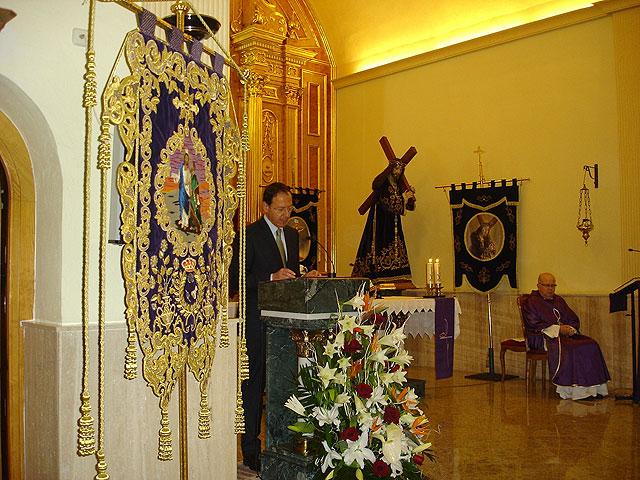 El Alcalde ensalza la Semana Santa de Los Garres y destaca los méritos e ilusión de las familias nazarenas - 1, Foto 1