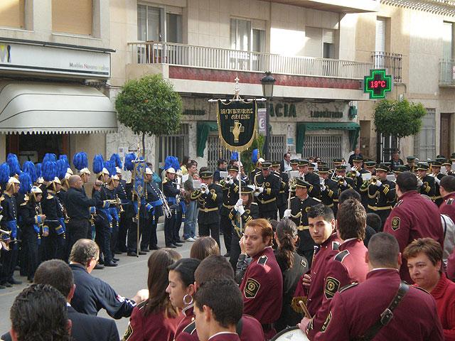 Puerto Lumbreras congrega más de 300 participantes en el VII Encuentro Juvenil de Tambores y Cornetas 2009 - 1, Foto 1