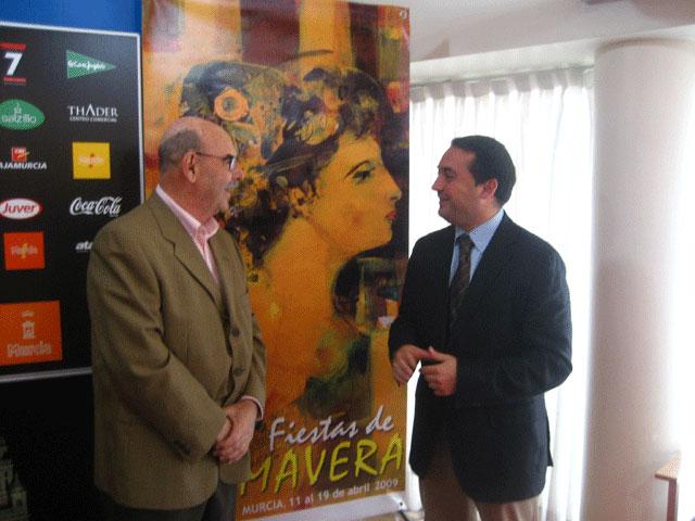 Un cuadro de Ángel Hernansáez anuncia las Fiestas de Primavera - 1, Foto 1