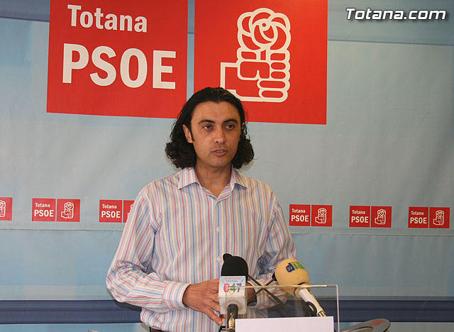 """Martínez Usero """"Totana is the municipality of the region that has received more money proportionately Zapatero Plan"""", Foto 1"""