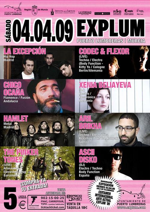 El Certamen Internacional de Arte 'Explum' contará con una gran jornada dedicada a la música, que ha adquirido ya su propia identidad en el encuentro artístico - 1, Foto 1