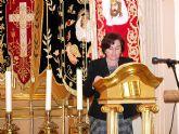 La antigua archivera municipal, Pachi Amorós, ha sido la primera mujer pregonera