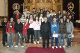 Un grupo de alumnos del Centro de Enseñanza Secundaria Secundaria 'Santa María de la Paz' (Jesuitinas), de Murcia visita la UCAM