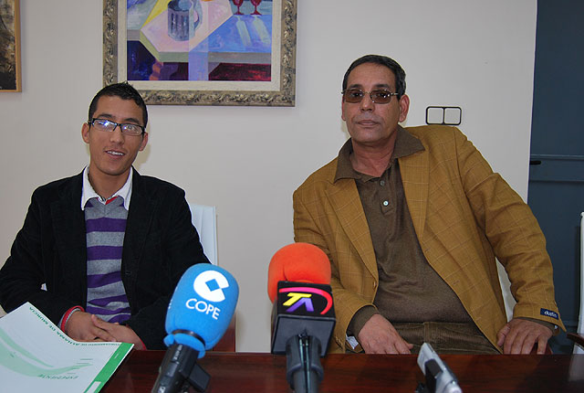El Delegado Saharaui visita el consistorio - 1, Foto 1