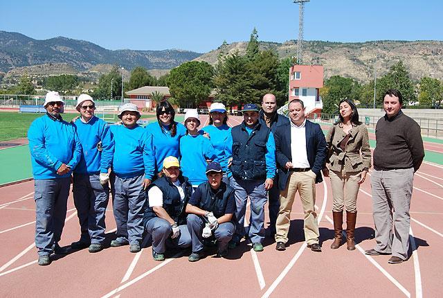 El Taller de Empleo remodela con importantes actuaciones el Complejo Deportivo Guadalentín - 1, Foto 1