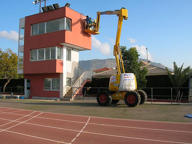 El Taller de Empleo remodela con importantes actuaciones el Complejo Deportivo Guadalentín - 3, Foto 3