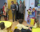 El Alcalde visita el colegio Mirasierra construido en el marco del plan municipal de fomento de centros educativos