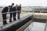 La depuradora de Torre Pacheco duplica su capacidad para tratar y reutilizar 7.500 metros cúbicos de agua al día