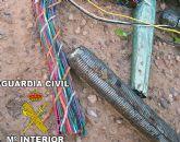 La Guardia Civil ha detenido a una persona como supuesto autor de robo de cableado eléctrico