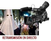 El portal web municipal vuelve a retransmitir las procesiones
