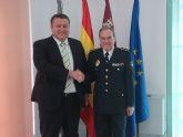 Visita institucional del comisario de la Policía Nacional de Cartagena