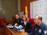 La Concejal Belén Pérez anuncia que el dispositivo de Seguridad y Emergencias para la Semana Santa de Lorca aumenta este año a más de 550 efectivos